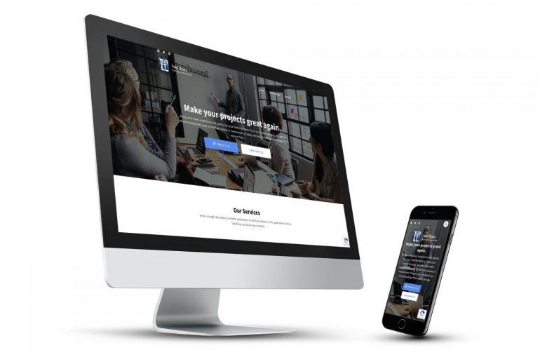 TekITEazy website on an iMac and a smartphone