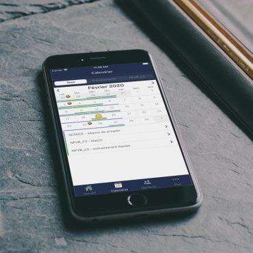 NPVB app on a smartphone